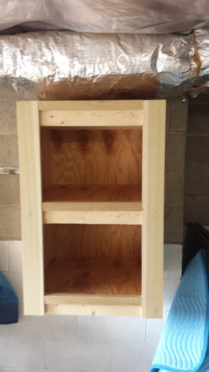 Custom Wood Storage Bin